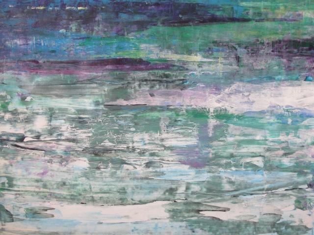 Reflets dans l'eau